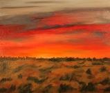 Sunrise on the Delmarva, 20x24, Oil on Panel