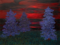 Lake Michigan Sunrise, 36x48, Oil on Canvas